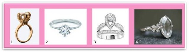 Engagement rings, Tiffany, Solange, Chaumet, Cathy Waterman