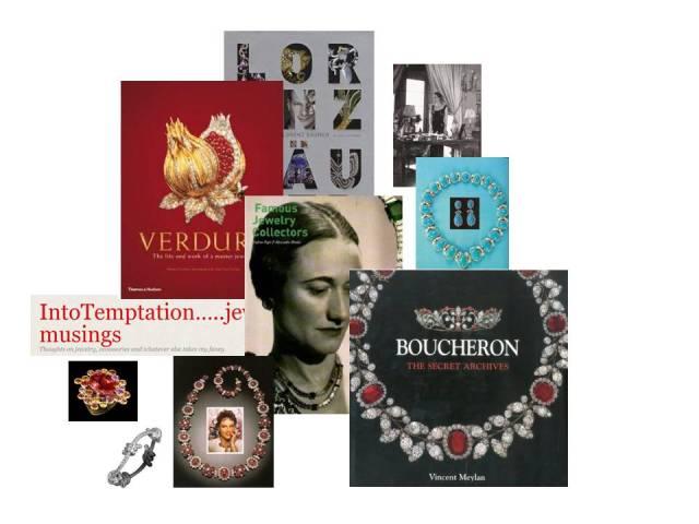 Jewelry books, Verdura, Boucheron, Lorenz Baumer