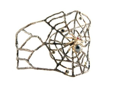 Anna ruth Henriques, jewelry, designer, spider cuff