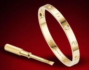 Silvia Taveira, Jewlery, cartier love bracelet