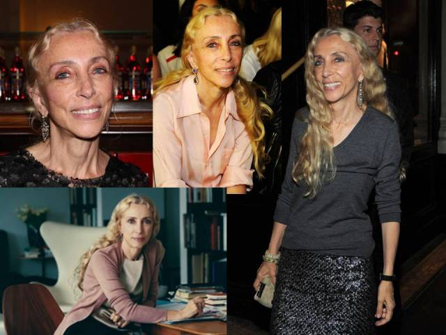 Franca Sozzani, Vogue Italia, style & earring collection